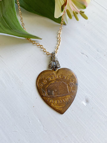 Old Home Heart Pendant