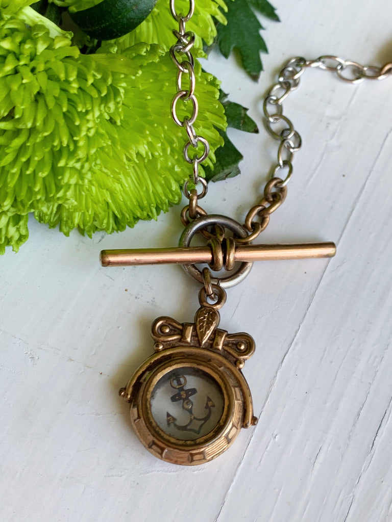 Sailor's compass necklace