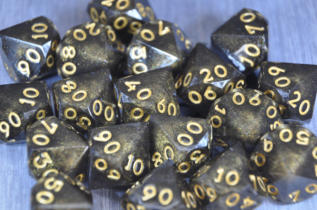 D100 Gilded Shadow