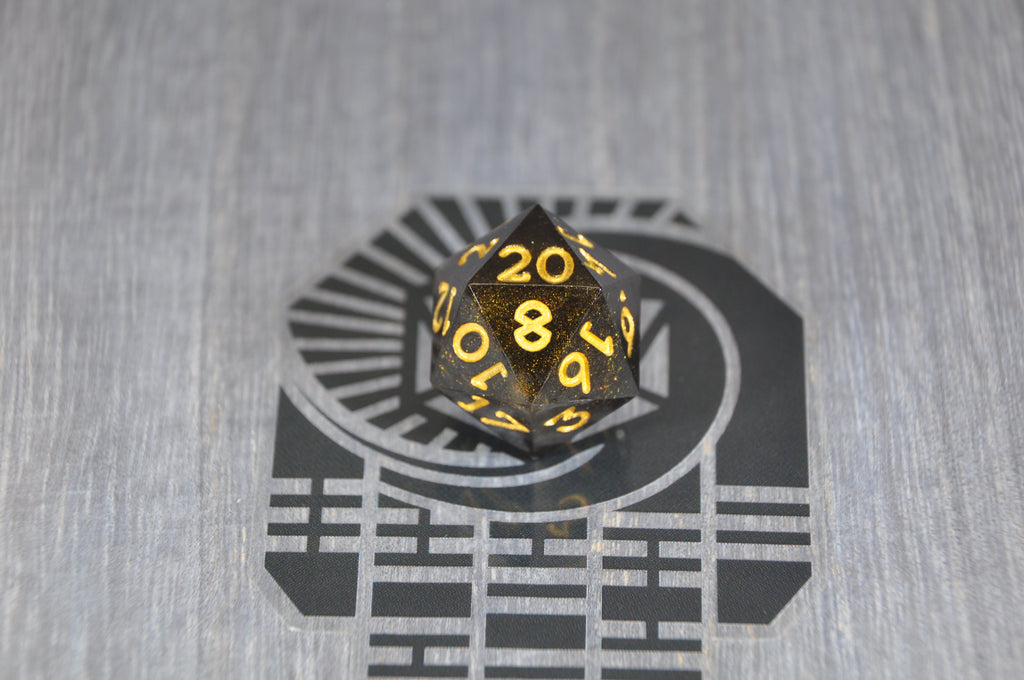 D20 Gilded Shadow