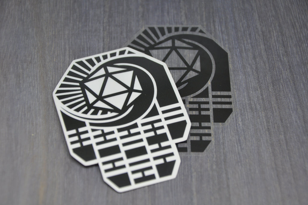 LHD Logo Sticker