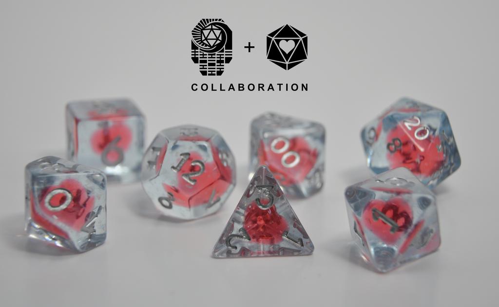 First Life Line - Lucky Hand Dice & HeartBeat Dice Collaboration