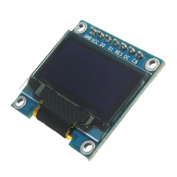 5Pcs 7 Pin 0.96 Inch IIC/SPI Serial 128x64 White OLED Display Module For Arduino