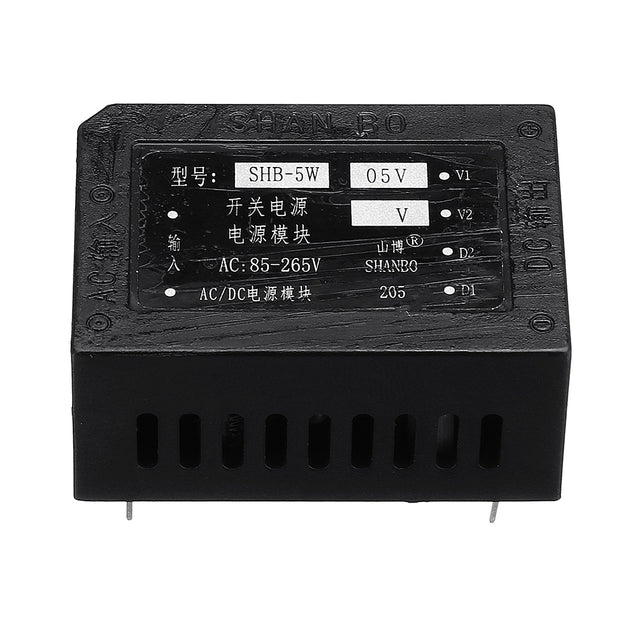 3pcs 1A AC 85-264V To DC 5V Switching Power Supply Module Precision Low Temperature Over Current
