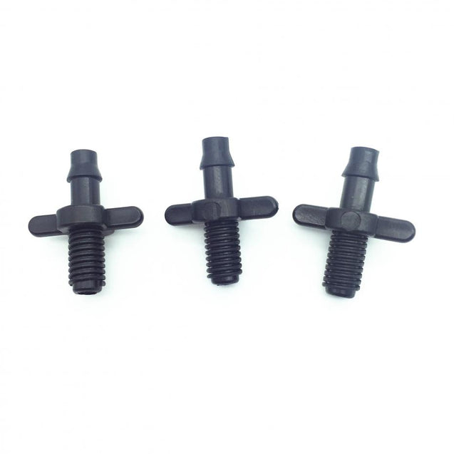 Splitter Adapter Connector Barb And Garden Irrigation Hoses Pvc Fittings 6mm Thread Cooling
