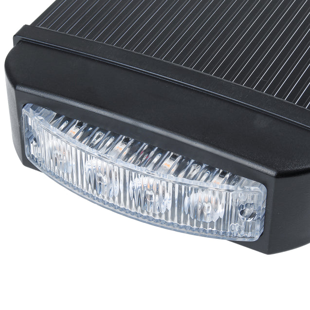 17.6Inch 32LED 96W Magnetic Car Roof Top Emergency Warning Light Bar Strobe Lamp Amber Beacon Waterproof