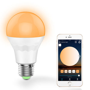 Flight Tracker Ac85-265v E27 7.5w Smart Wifi Bulb Rgb White Led Bulb Wireless Remote Controller Lamp Led Light Dimmmable Bulbs For Ios Android Lights & Lighting Led Bulbs & Tubes