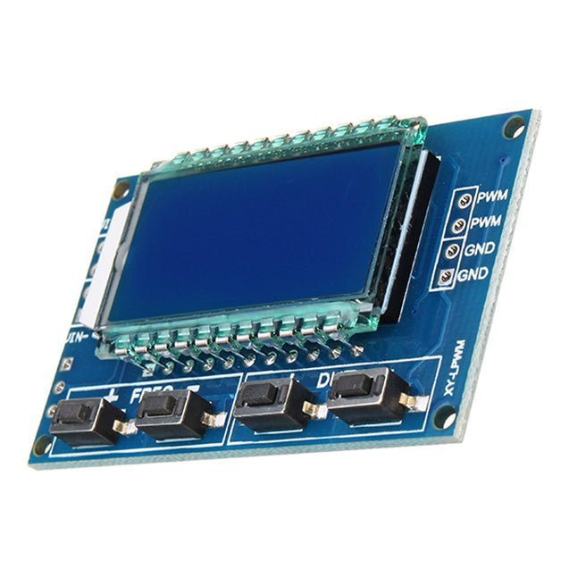 1Hz-150Khz 3.3V-30V Signal Generator PWM Pulse Frequency Duty Cycle Adjustable Module LCD Display