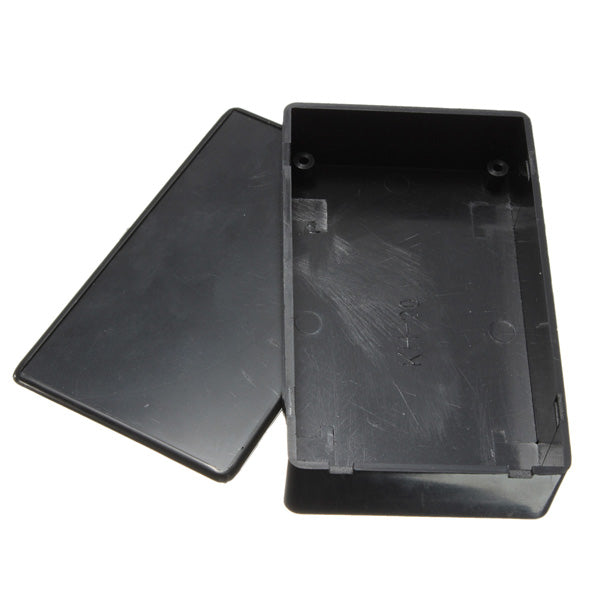 3Pcs Black Plastic Electronic Box Instrument Case 100x60x25mm Junction Case