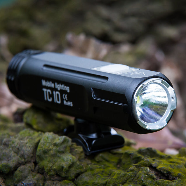 infun TC10 850LM IPX6 3400mAH Battery 85 Floodlight 4 Modes Intelligent Temperature Bike Light