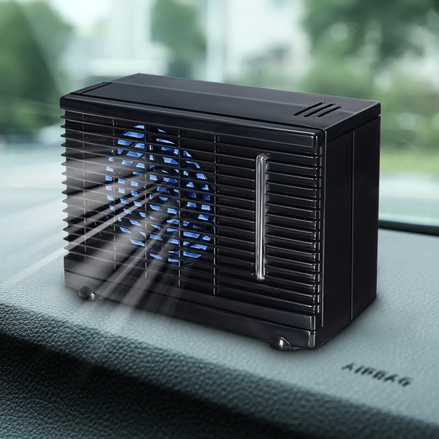 12V Portable Home Car Cooler Cooling Fan Water Ice Evaporative Air Conditioner