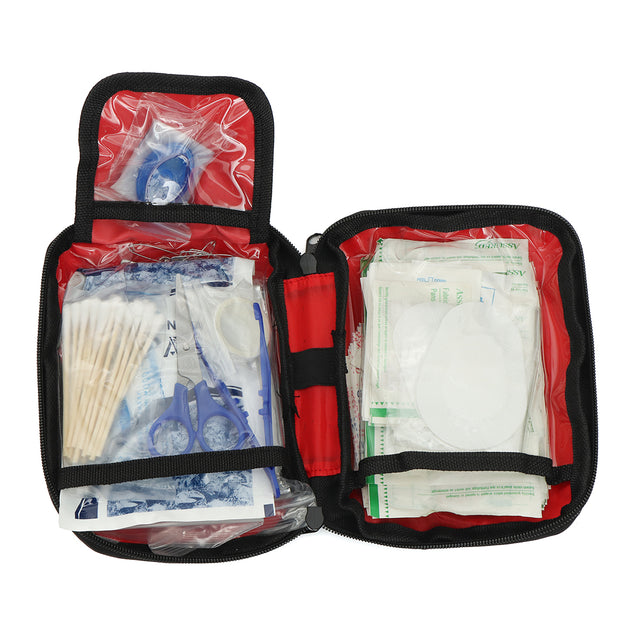 303 Pieces First Aid Kit Set Medical Emergency Safety Portable Bag Pouch