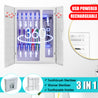 3 IN 1 Rechargeable/USB Powered 3in1 UV Light Ultraviolet Toothbrush Sterilizer