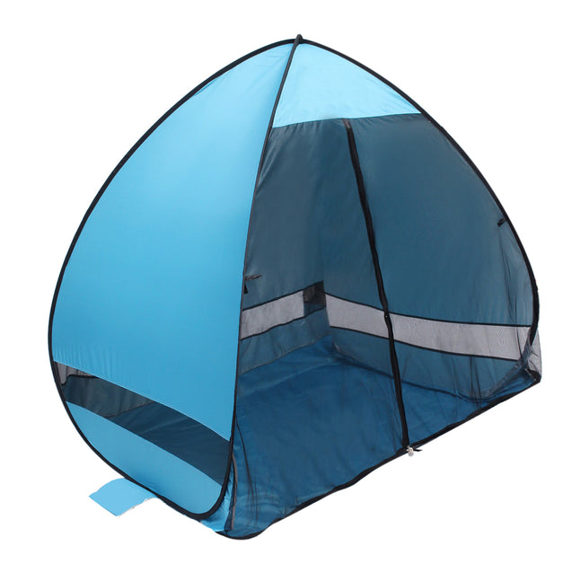 Outdoor Camping 2 People Automatic Pop Up Tent Waterproof Beach Sunshade Shelter With Mosquito Net