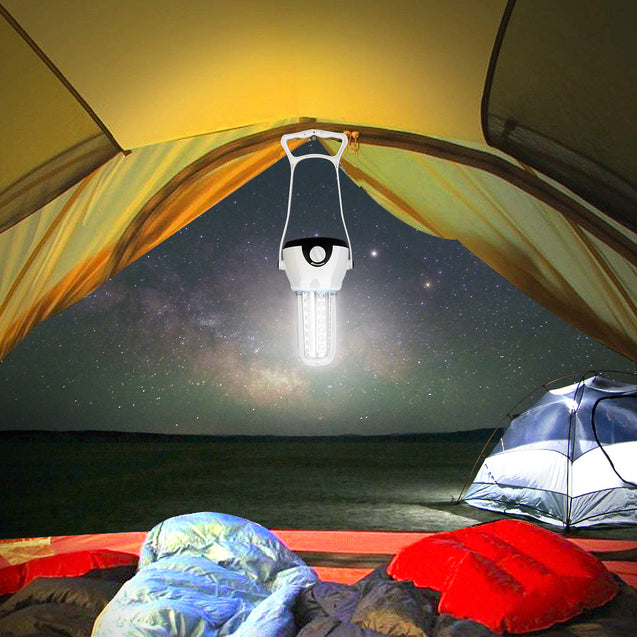 42 LED Camping Light Portable Searchlight Outdoor Emergency Lamp Tent Lantern With Magnets Hooks