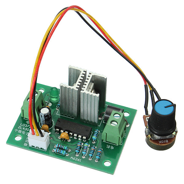 3Pcs 12V-24V Pulse Width PWM DC Motor Speed Switch Controller Regulator