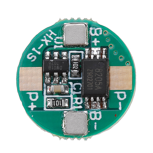 1S 3.7V 18650 Lithium Battery Protection Board 2.5A Li-ion BMS with Overcharge and Over Discharge Protection