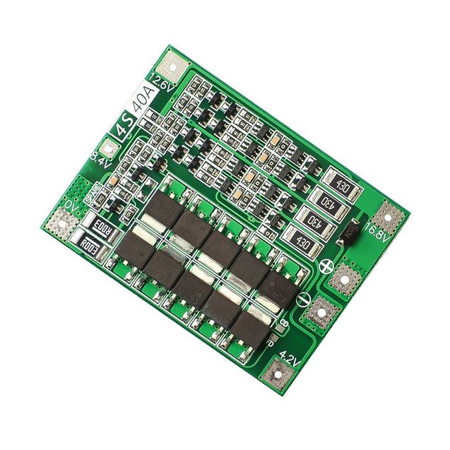 4S 40A Li-ion Lithium Battery 18650 Charger PCB BMS Protection Board with Balance