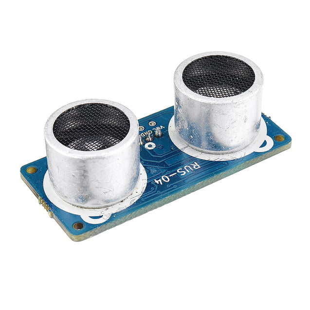 RUS-04 Ultrasonic Module with RGB Light Distance Sensor Compatible HC-SR04 Obstacle Avoidance Sensor Smart Car Robot