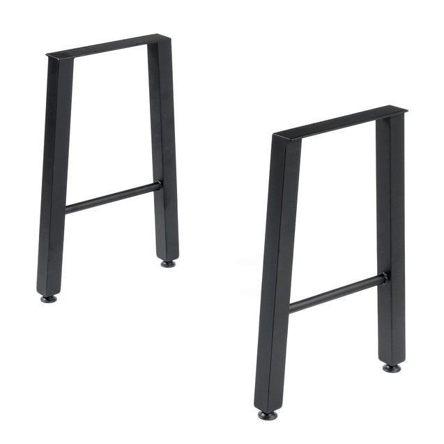2x Iron Craft Stainless Steel Legs Industry Table Legs 22 Coffee Desk Chair Legs Metal DIY Furniture For Home Office""