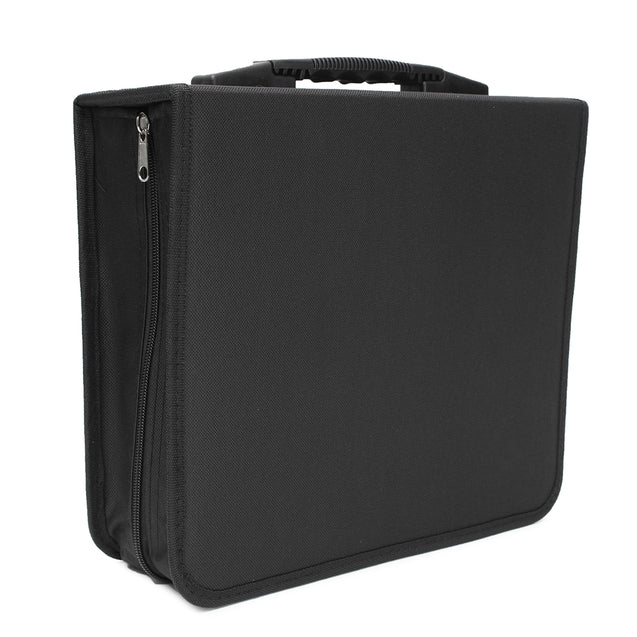 288 Disc CD DVD Box Storage Case Carry Bag Binder Book Sleeves Rack Holder