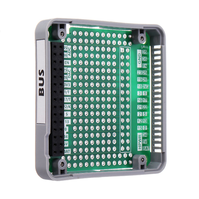 BUS Module Expansion Board for  ESP32 IoT Development Kit with 2*15pin Bus Socket Stackable Demoboard B