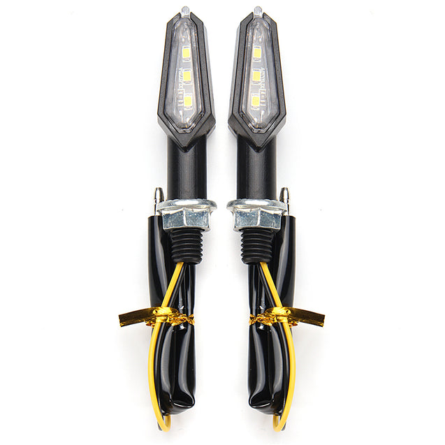 12V Motorcycle Enduro LED Rear-Fender Brake Tail Running Light Turn Signal Universal