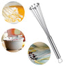 Stainless Steel Ball Whisk Egg Beater Hand Stirrer Mixer Cream Sauce Whipping