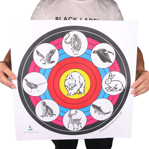 40X40cm Archery Target Paper For Outdoor Sport Archery Bow Hunting Shooting Training Target