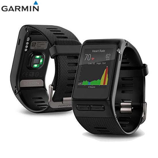 Garmin vvoactive HR Touchscreen GPS Smart Watch with Wrist-based Heart Rate 5 ATM Black
