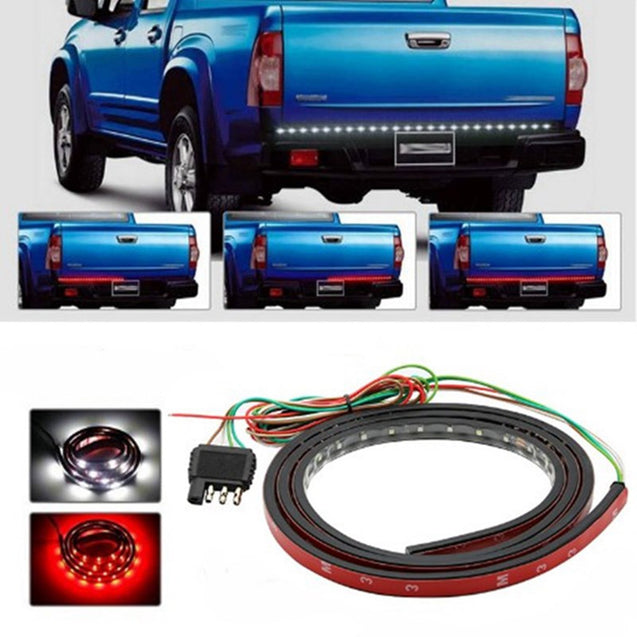 150CM Turn Signal Brake Taillight Waterproof LED Strip Light for Jeep Dodge Ford Pickup DC9-24V