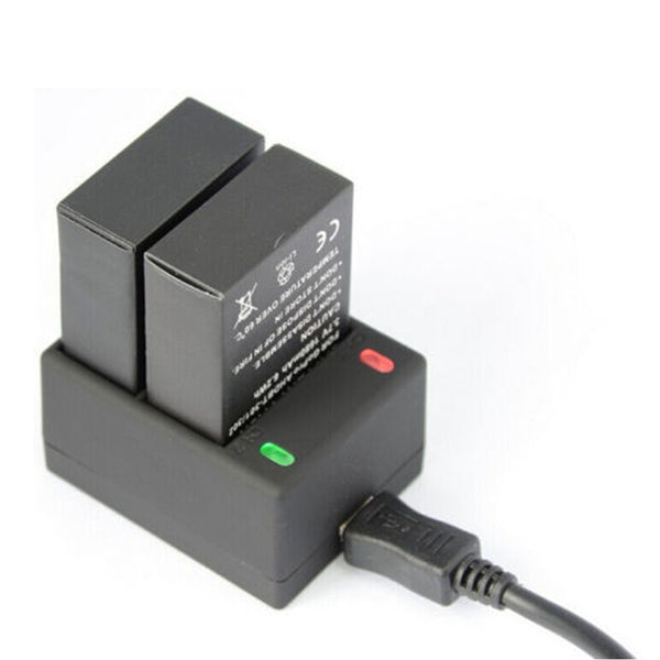 1250mAh Charger for Gopro Hero3 AHDBT 201 AHDBT-301 Dual Battery