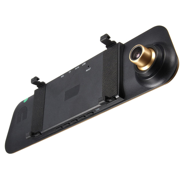 4.3 Inch 1080P Full HD Touch Screen G-sensor Rearview Mirror Car Camera DVR 140 Degree Wide Angle