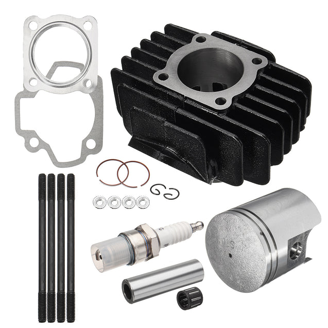 Big Bore Top End Set 60cc Piston Cylinder Ring Kit For Yamaha PW50 1981-2009