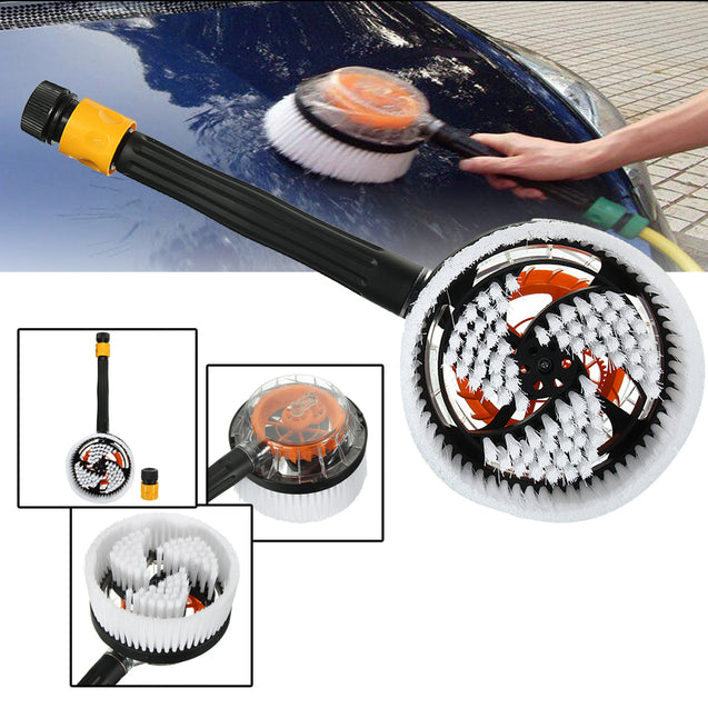 Car Truck Auto Vehicle Wash Brush Switch Foam Rotation Cleaning Tool Cleaner