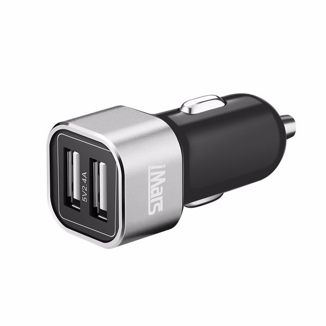 iMars Quick Charge 24W Dual USB Port 5V 4.8A Car Charger for Samsung S7 edge Note 7