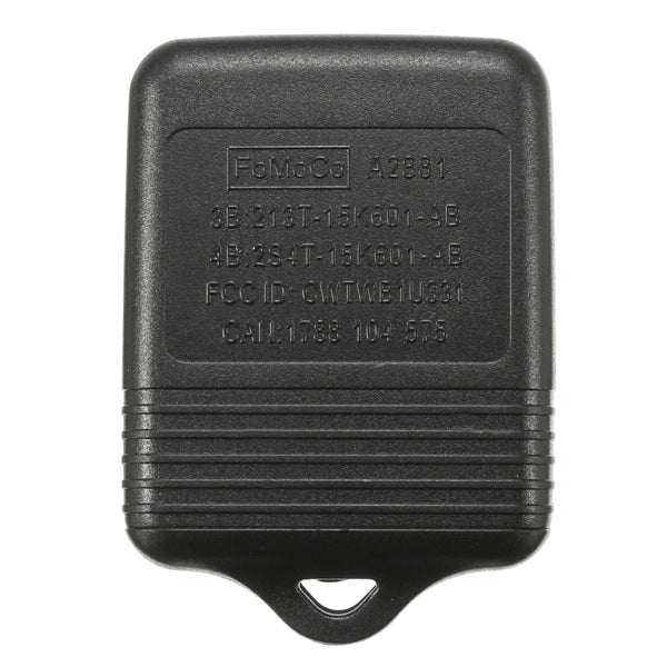 Car Keyless Entry Remote Key Fob Transponder Chip 3 Button for Ford F150 F250 F350