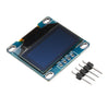 3Pcs 0.96 Inch 4Pin IIC I2C SSD136 128x64 DC 3V-5V Blue OLED Display Module For Arduino