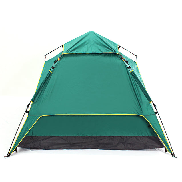 4 Person Large Camping Tent Waterproof Instant Pop Up Hiking Fishing Beach Family Tent