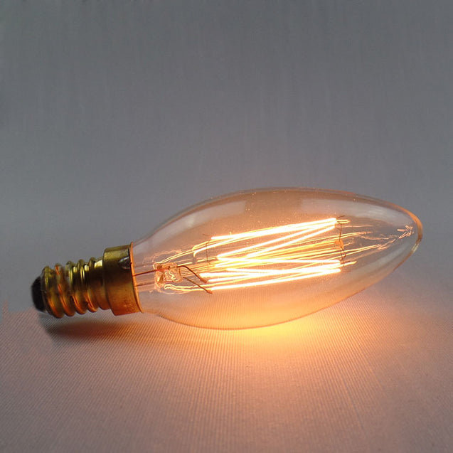 C35 E14 40W 220V Incandescent Bulb Retro Edison Light Bulb