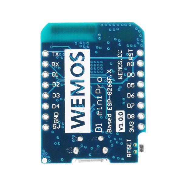 3Pcs WeMos D1 Mini Pro-16 Module + ESP8266 Series WiFi Wireless Antenna