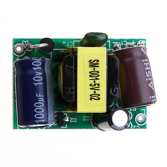 3Pcs AC-DC 5V600mA Switch Power Supply Module Bare Board LED Power Supply Micro Power Supply Board
