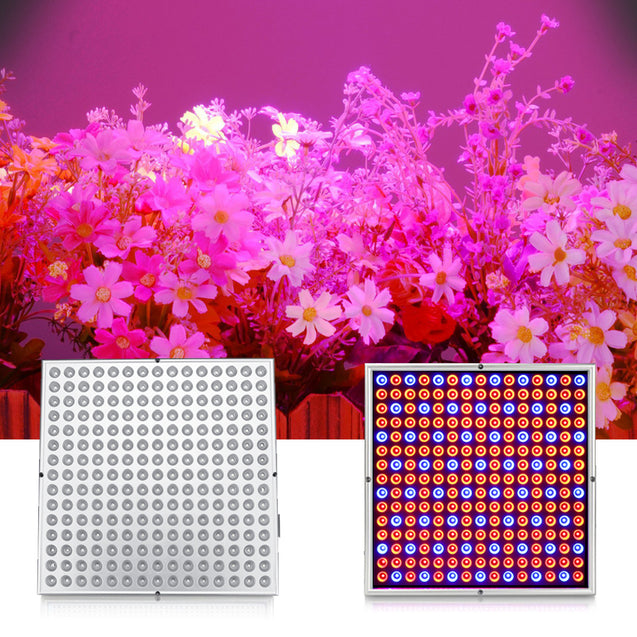 14W 225LED Grow Light Growing Lamp For Hydroponic Indoor Plant EU Plug AC85V-265V
