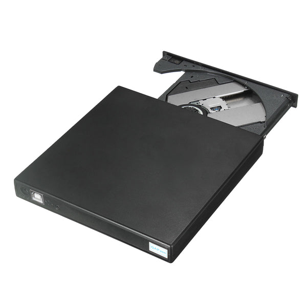 USB2.0 External DVD ROM Player Reader CDRW Combo Burner Drive For Laptop PC Optical Drive