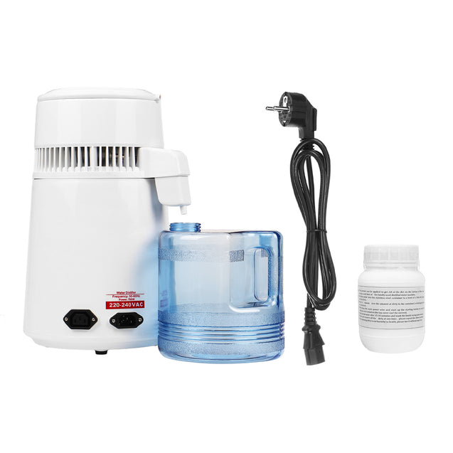 220V 750W 4L Stainless Steel Water Stiller Water Distillation Purifier