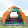 3-4 People Outdoor Camping Tent Automatic Instant Pop Up Waterproof Family Large Sunshade Canopy