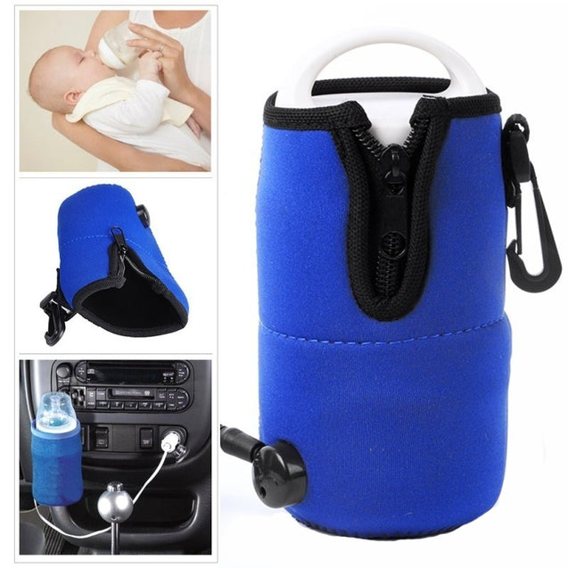12V Universal Travel Milk Bottle Cup Warmer Heater For Baby Kids