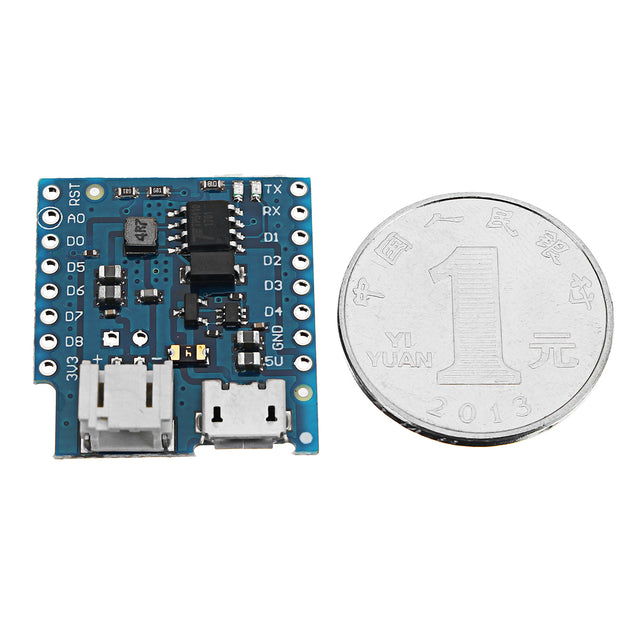 5pcs Wemos Battery Shield V1.2.0 For Wemos D1 Mini Single Lithium Battery Charging & Boost Module