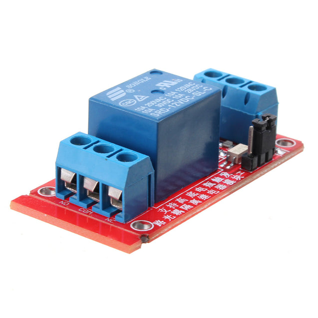 5Pcs 1 Channel 12V Level Trigger Optocoupler Relay Module For Arduino