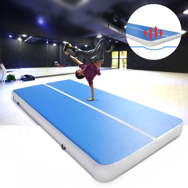 236.2x39.4x3.94inch PVC Inflatable GYM Air Track Mat Airtrack Gymnastics Mat Cheerleading Training